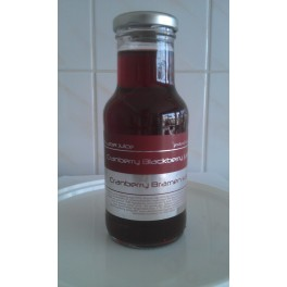 Dutch label cranberry blackberry juice